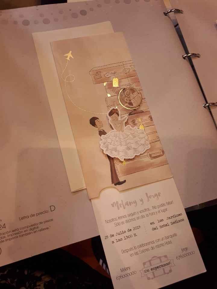 ¡Sube una foto de la invitación de tu boda! - 2