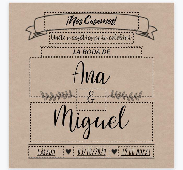 Novios que nos casamos el 3 de Octubre de 2020 en Albacete - 1
