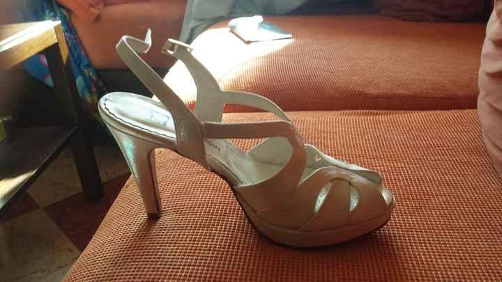 Nuestros zapatos bodas 2015 - 2