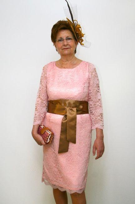 Vestidos madrina talla grande