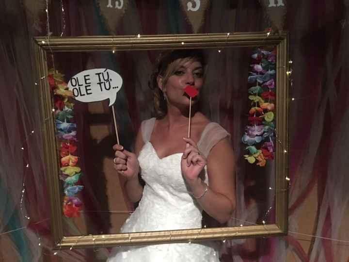 Ya felizmente casados!!! Vaya día👏🏼😍👏🏼😍 - 1