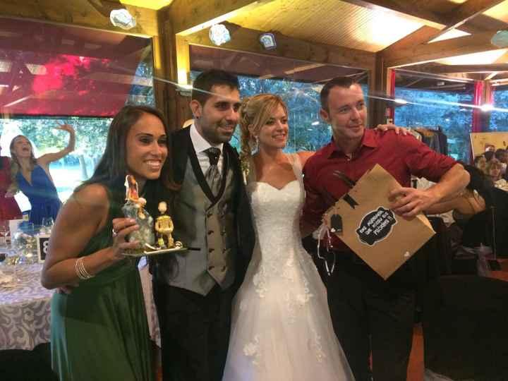 Ya felizmente casados!!! Vaya día👏🏼😍👏🏼😍 - 2