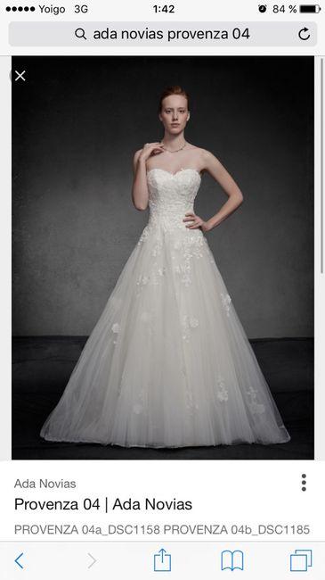 hoy primera experiencia ada novias!!???? - moda nupcial - foro bodas