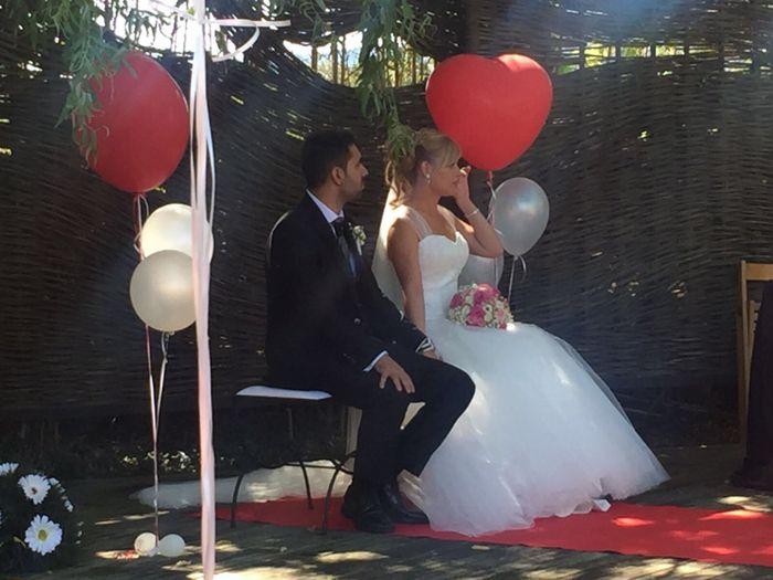 Ya felizmente casados!!! Vaya día👏🏼😍👏🏼😍 - 3