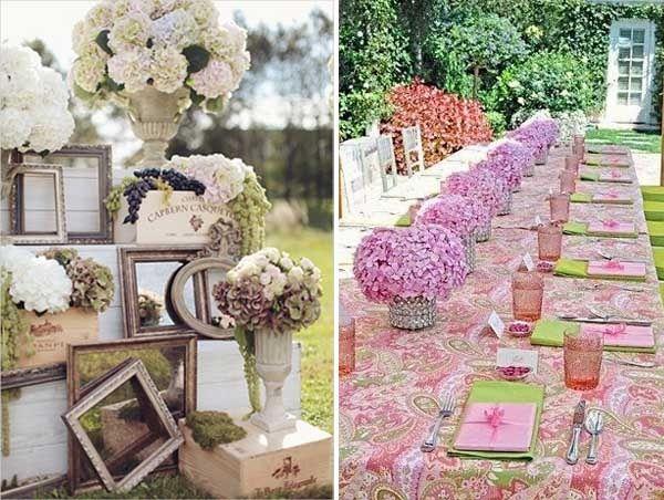 Matrimonio Tema Legno : Decora tu boda con hortensias organizar una foro