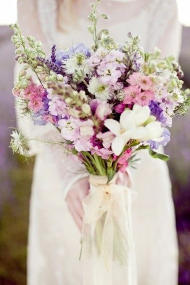 Ramo de novia para bodas r sticas organizar una boda - Organizar una boda ...