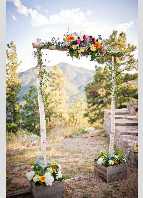 Ideas para altar al aire libre organizar una boda foro for Como organizar una boda civil sencilla y economica