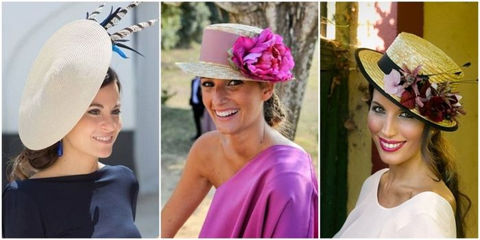 Especial invitadas sombrero tocado o turbante Moda nupcial