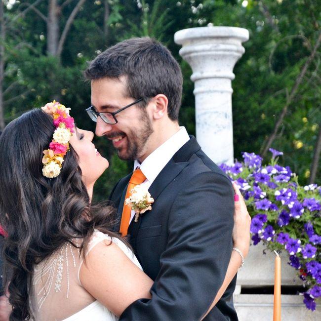 Felizmente casados!!