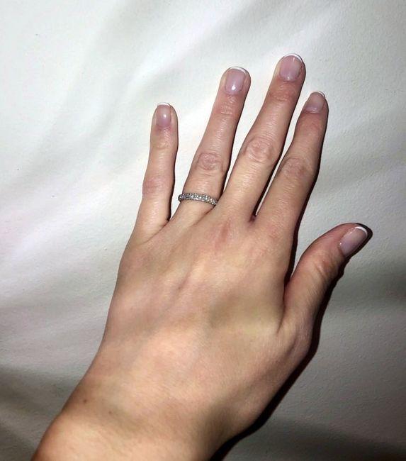 Pongamos todas nuestro anillo de compromiso 24