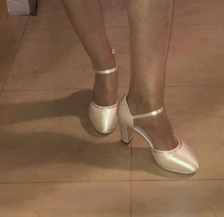 Qué zapatos de novia llevar? - 1