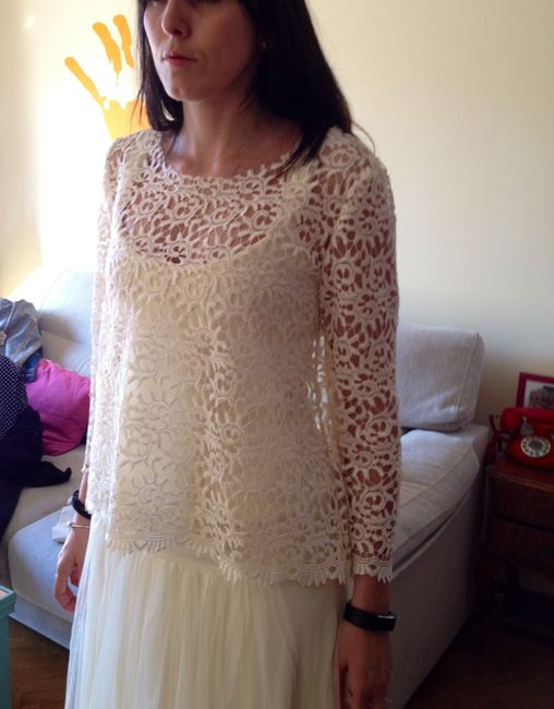 mi vestido de novia va cogiendo forma parte 4 - moda nupcial