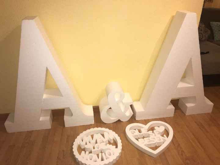 Letras boda - 1