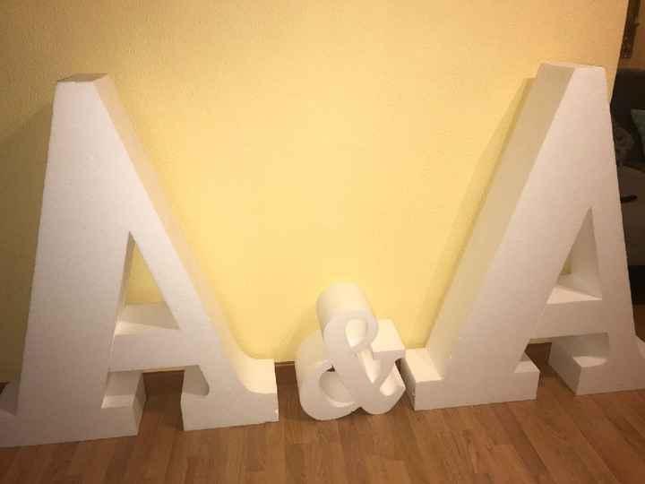 Letras boda - 2