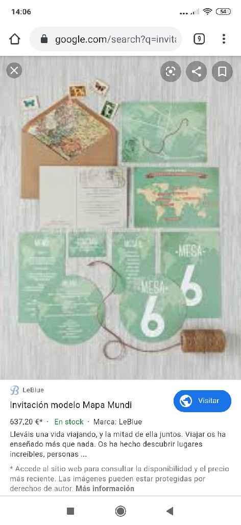 Tarjetas de boda - 1