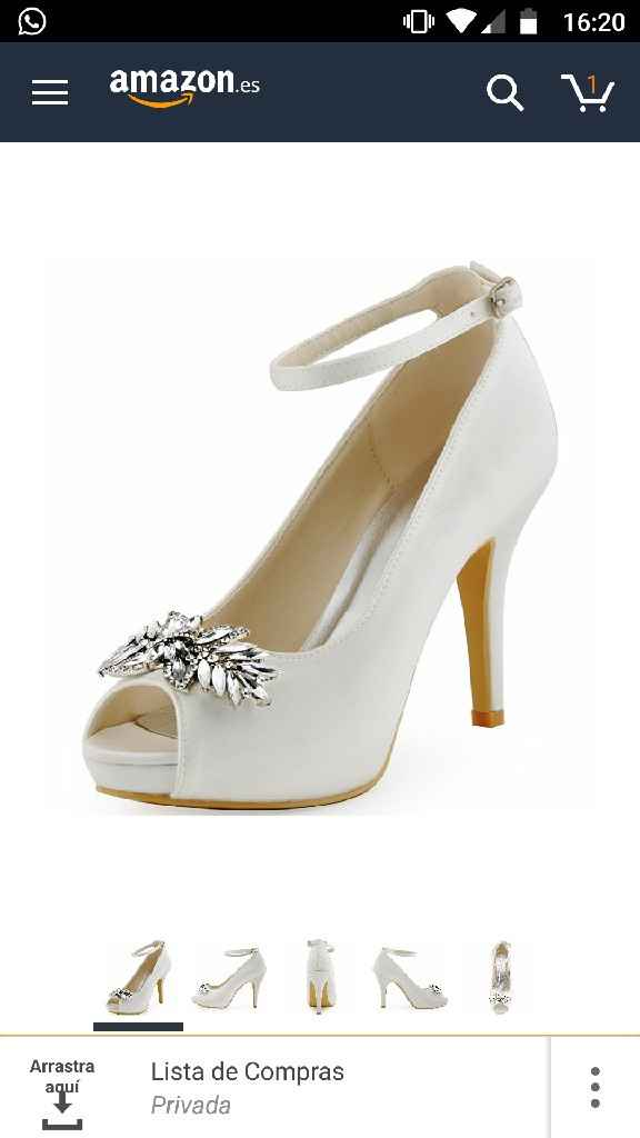 Zapatos por fiiinnnn - 1