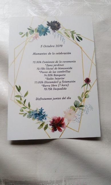 Invitaciones caseras - 2