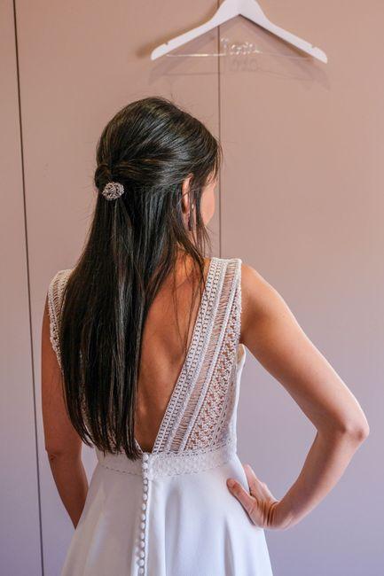 ¿Cómo es la espalda de tu vestido? 3