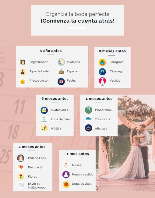 Calendario wedding 1
