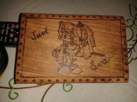 Como decorar una caja de madera manualidades foro - Como decorar madera ...