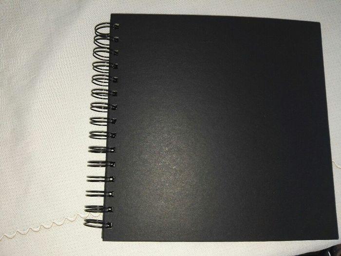 Libro de firmas hecho por mi - 1