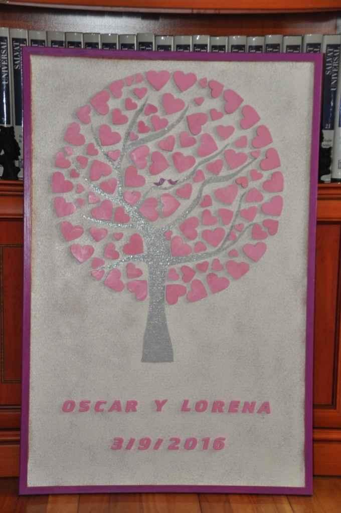 Mi árbol de firmas handmade - 1