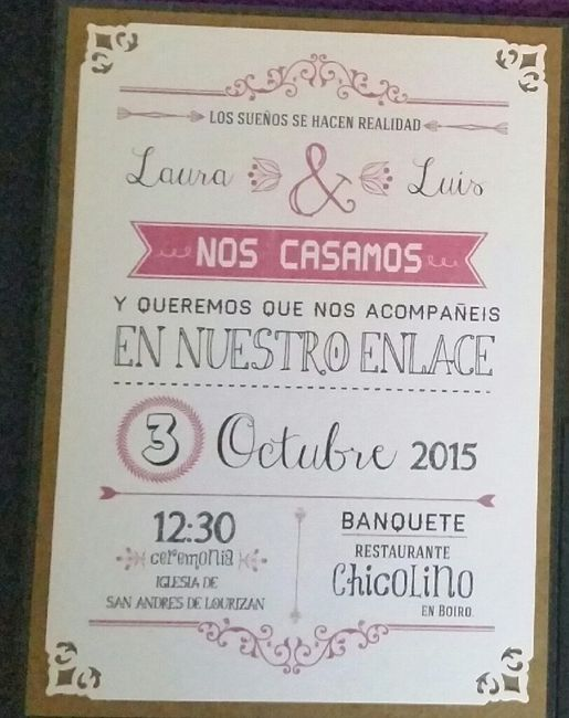 Invitación diy estilo mr wonderful 1 Fotos bodas net