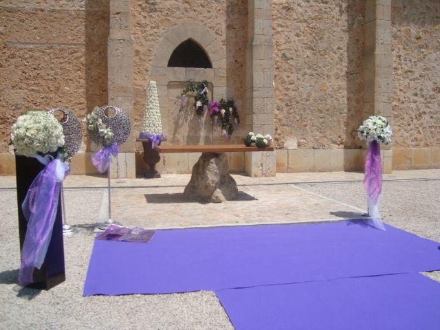 Decoracion exterior de portals nous fotos for Decoracion boda exterior
