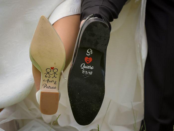 Pegatinas en los zapatos - 1