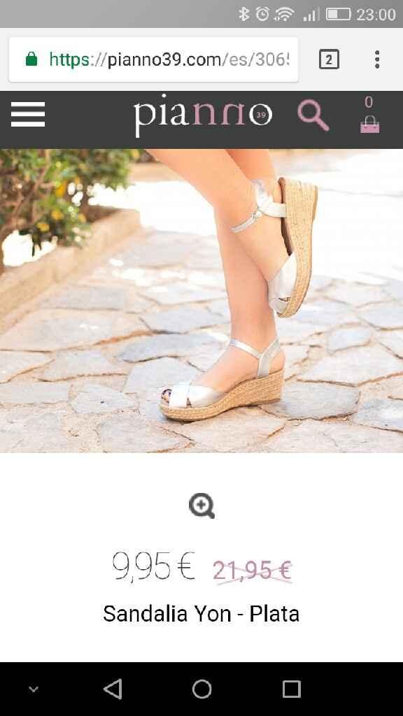 Decorar sandalias tipo alpargata - 1