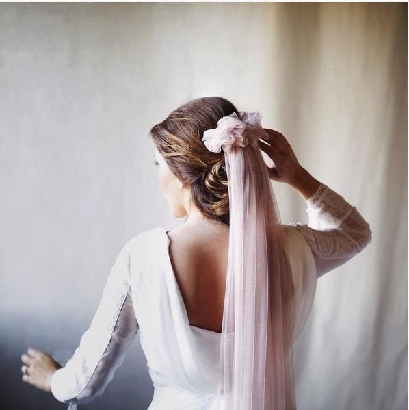 a0970e90e Velo de color rosa... me arriesgo  help - Moda nupcial - Foro Bodas.net