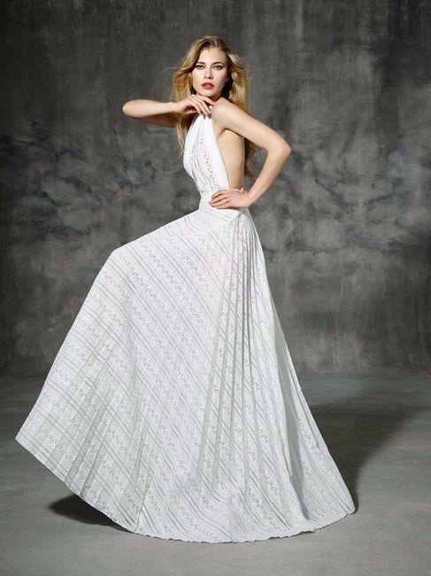 vestido de novia con un toque rústico - barcelona - foro bodas