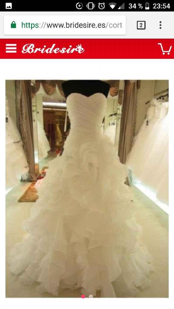 Vestido novia Hebeos - 1