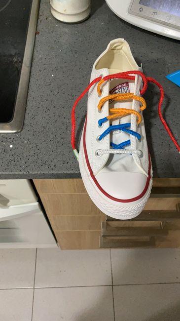 Aguantaré toda la boda con los mismos zapatos, ¿V o F? - 1