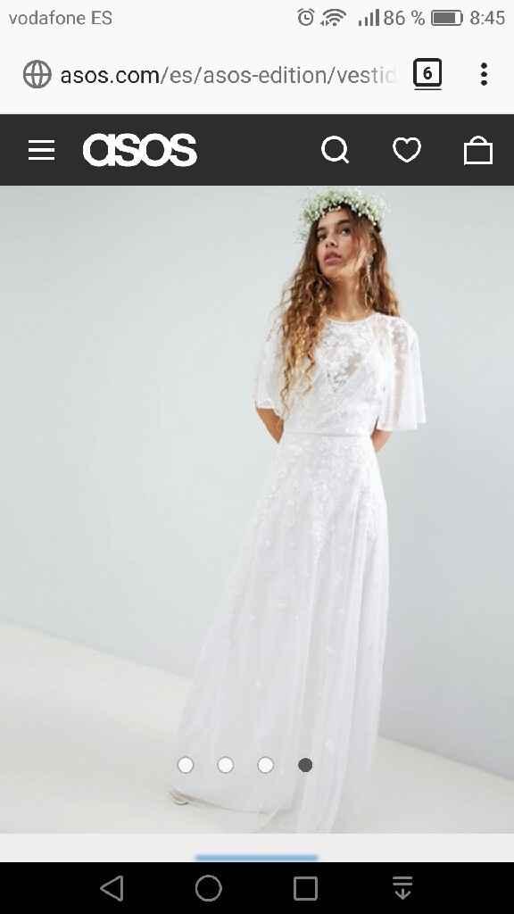 ¿Cuál será el corte de tu vestido? - 1