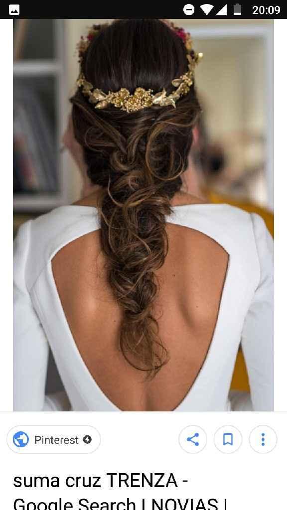 El dilema de Myriam: ¿pelo suelto o recogido? - 1