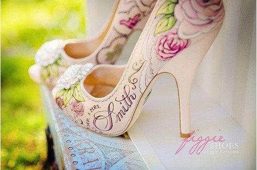 zapatos personalizados para novia!! - foro bodas