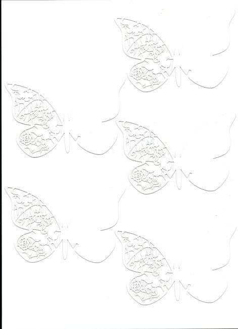 Tutorial imprimir mariposas de agradecimiento en casa - Manualidades ...