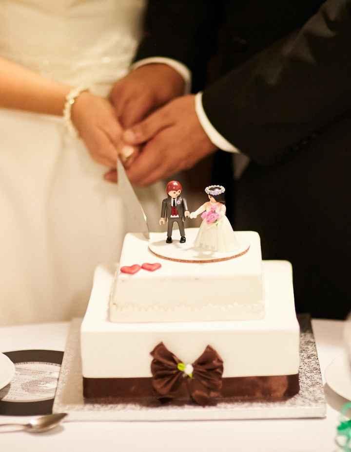 Cake topper-Playmobil