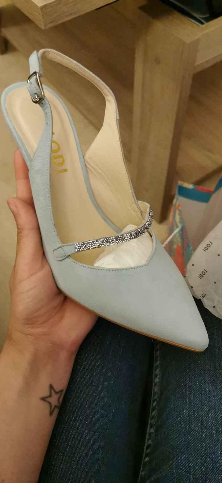 ¿De qué color son vuestros zapatos de novia? - 1