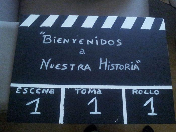 Mi Version Del Cartel Aqui Llega La Novia Paso A Paso Tematica