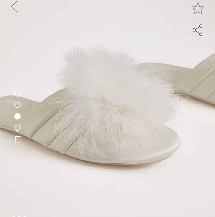 Zapatillas para maquillaje y peinado - 1