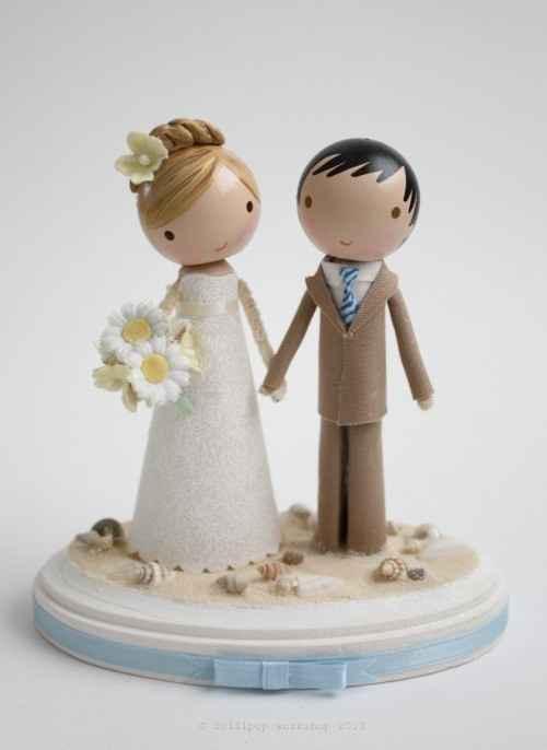 Muñeco tarta boda - 1