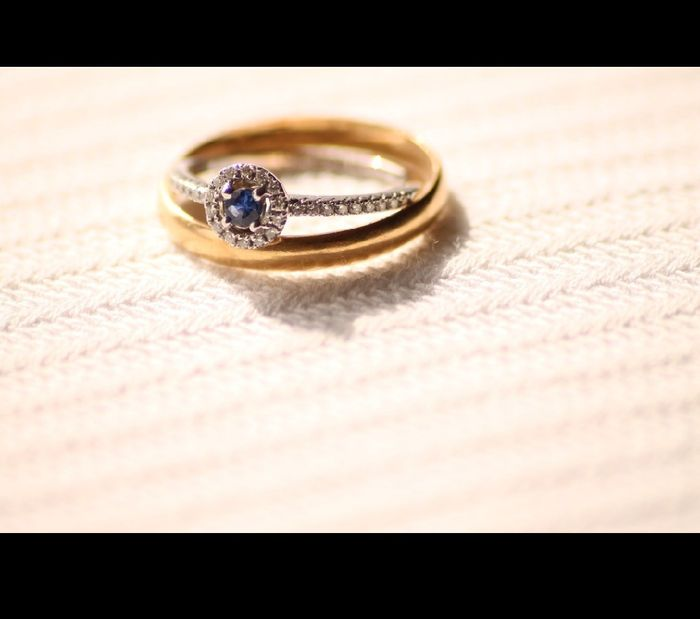 ¿Llevarás el anillo de pedida el día B? 💍 1
