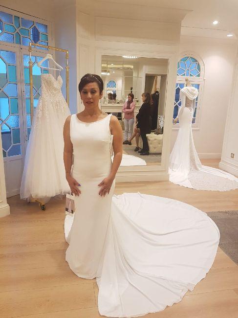 Las pruebas del vestido de novia - 2