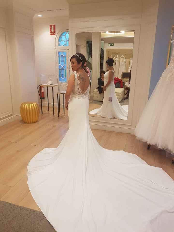 Las pruebas del vestido de novia - 1