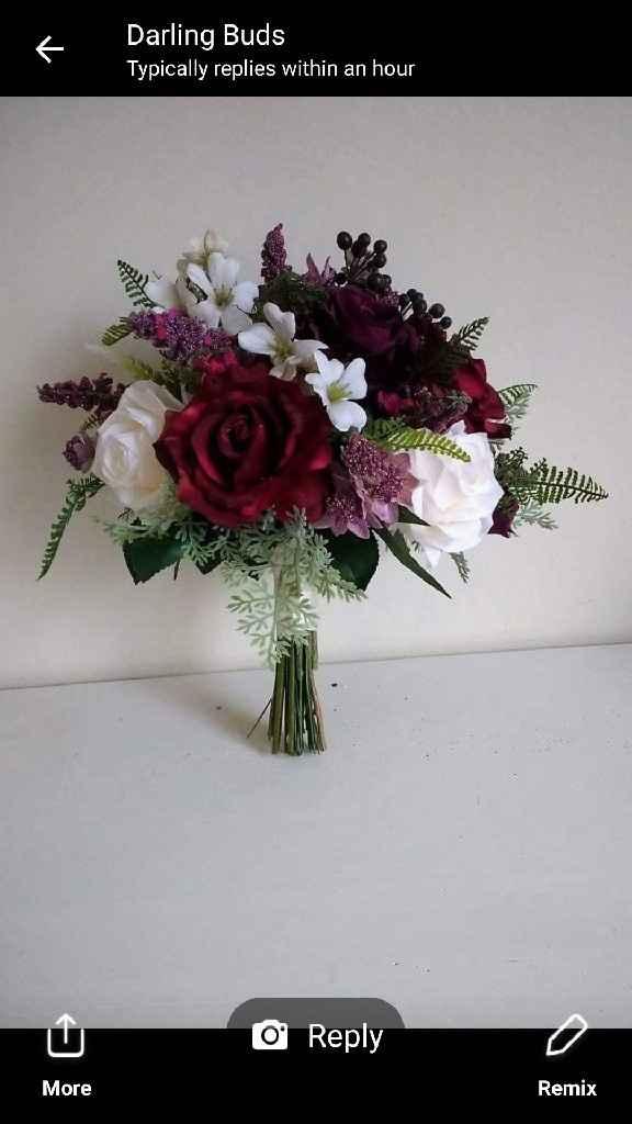 Ramo flor artificial - 1