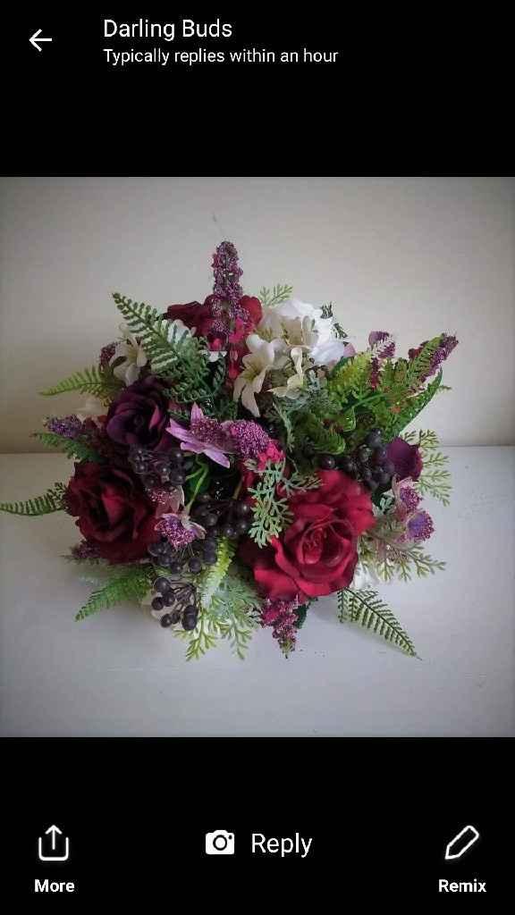 Ramo flor artificial - 2
