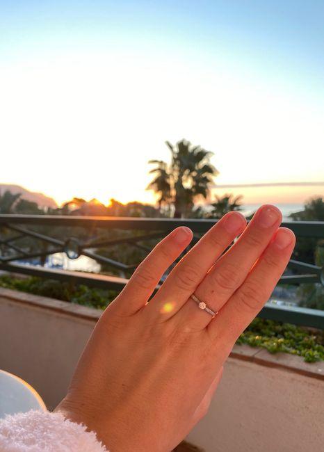 Pongamos todas nuestro anillo de compromiso 2