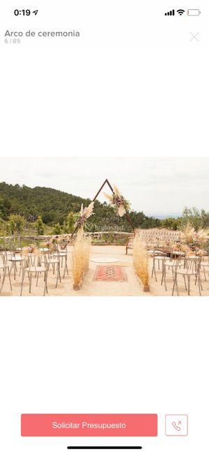 Decoracion ceremonia - 1